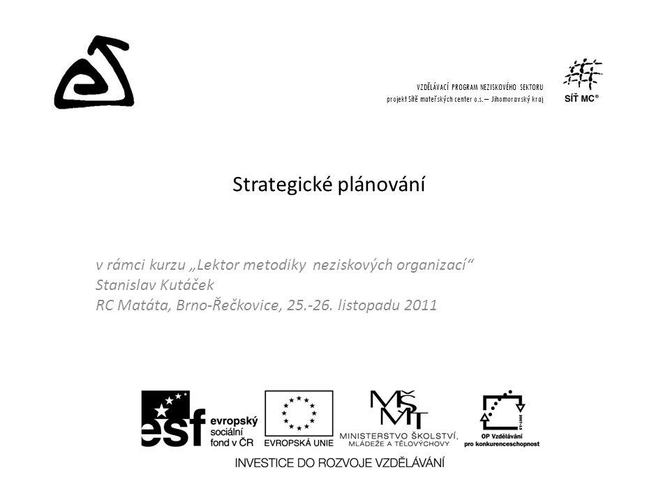 """v rámci kurzu """"Lektor metodiky neziskových organizací Stanislav Kutáček RC Matáta, Brno-Řečkovice, 25.-26."""
