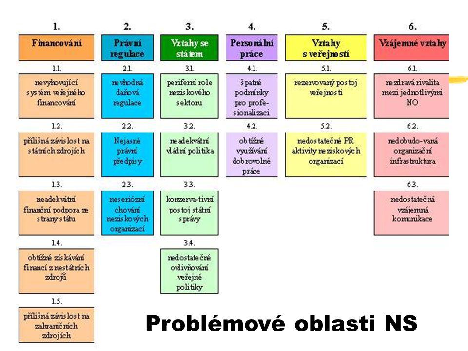 39 Problémové oblasti NS