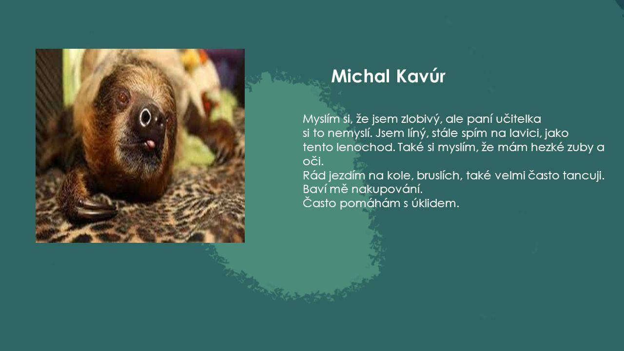 Viola Karchňáková Jsem přátelská a myslím, že i spravedlivá.