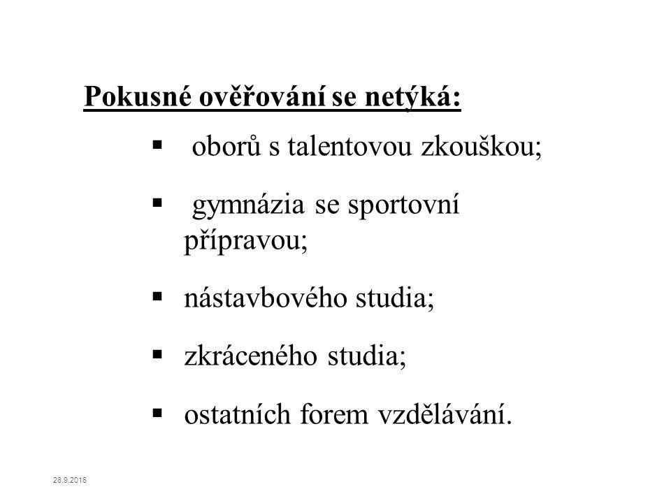 Podpora odborného vzdělávání Zařazeno celkem 16 oborů (převážně stavební a strojírenské obory).