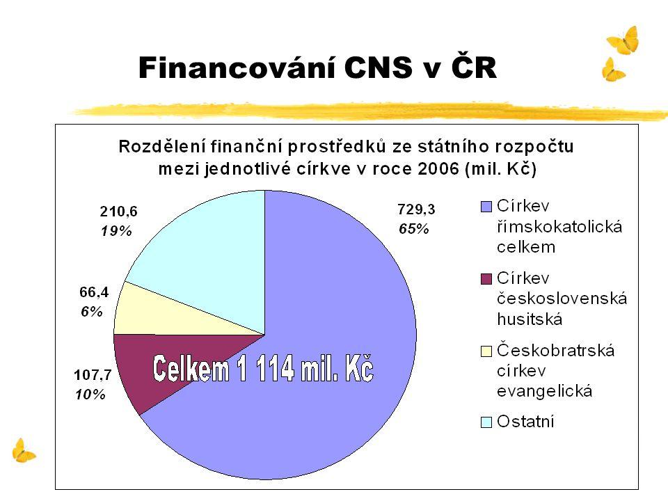 Financování CNS v ČR