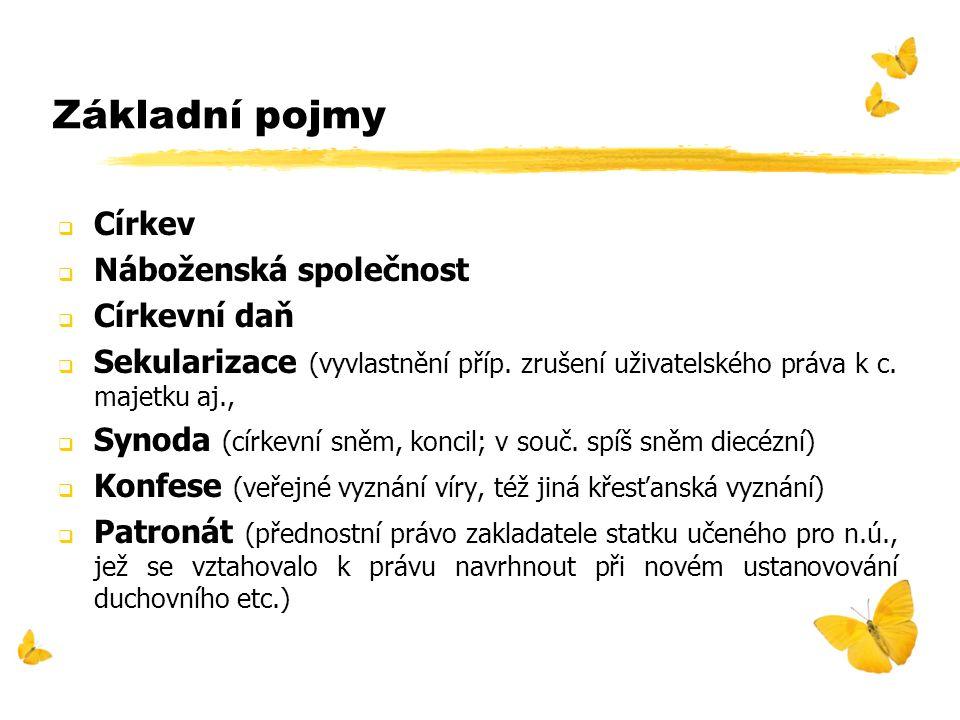 Počty věřících v ČR (1991, 2001)