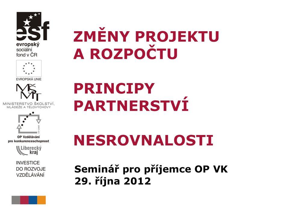 Typy partnerství v projektu  PpP, verze 6, kap.4, str.