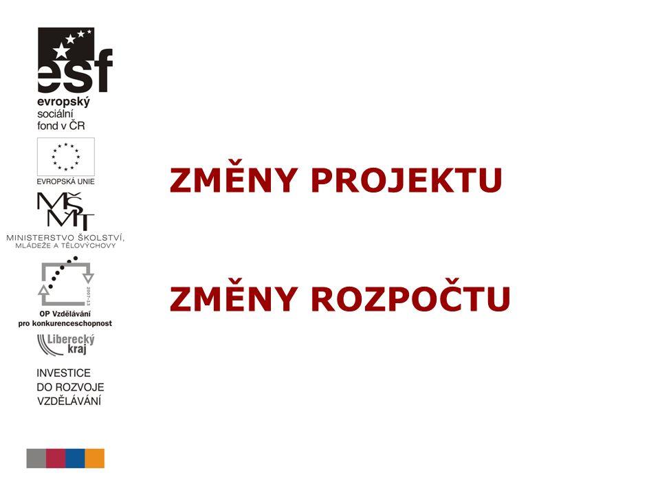  PpP, verze 6, kap.3.1 Změny projektu a doplnění projektu, str.