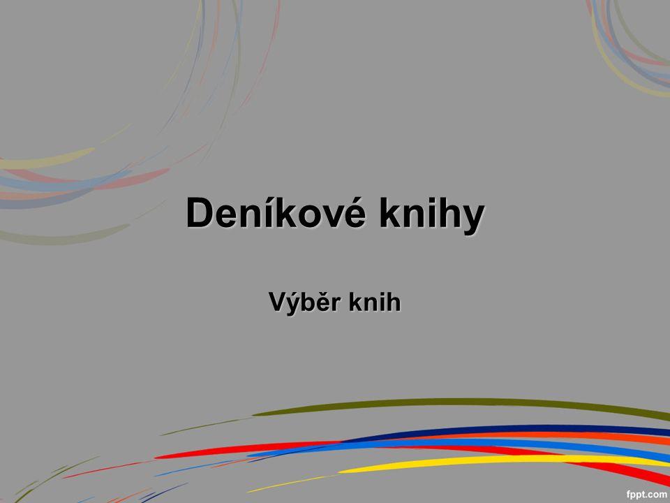 Deníkové knihy Výběr knih