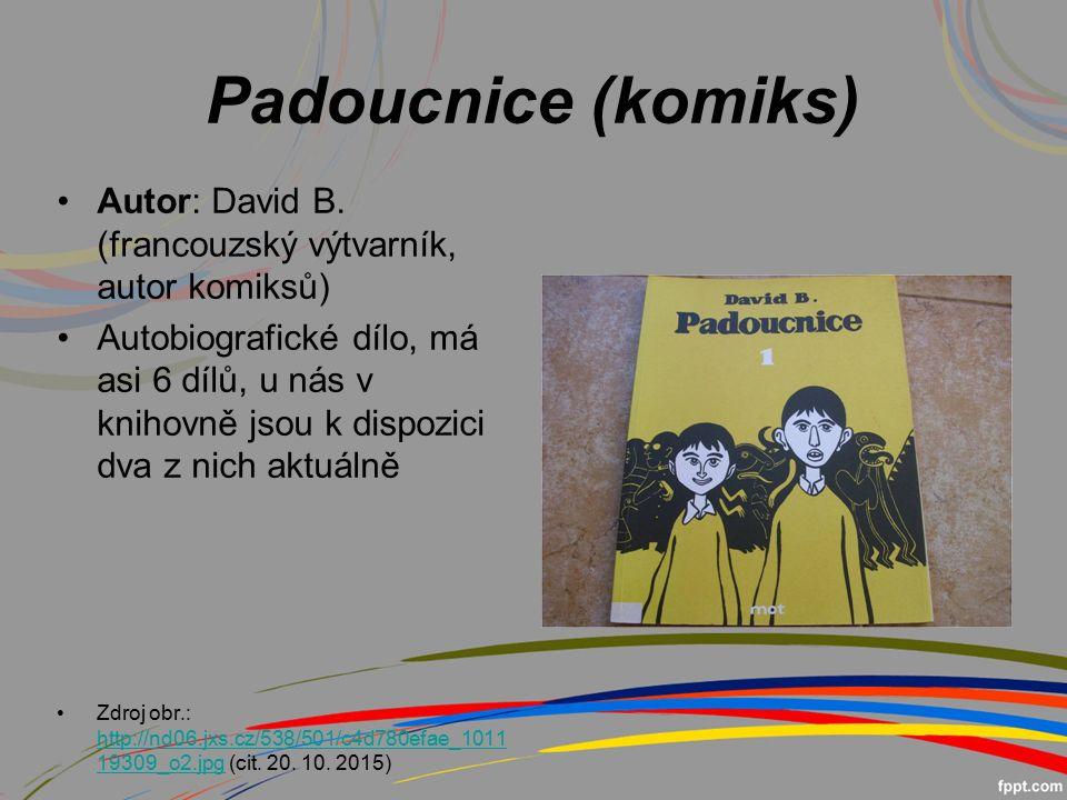 Padoucnice (komiks) Autor: David B.