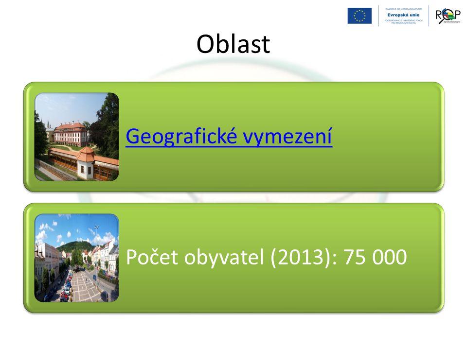 Oblast Geografické vymezení Počet obyvatel (2013): 75 000