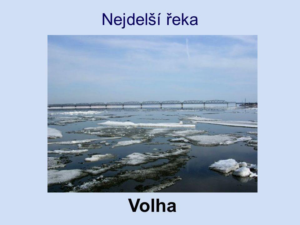 Nejdelší řeka Volha