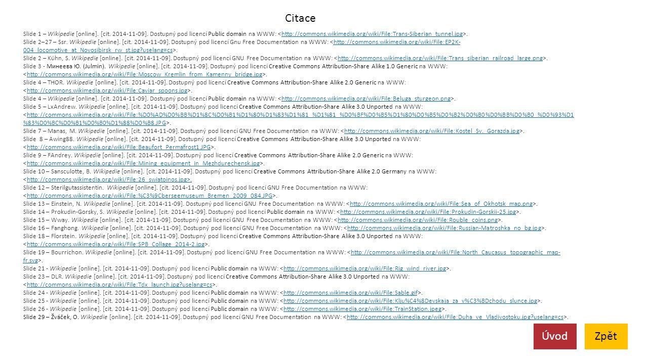 Citace Slide 1 – Wikipedie [online]. [cit. 2014-11-09].