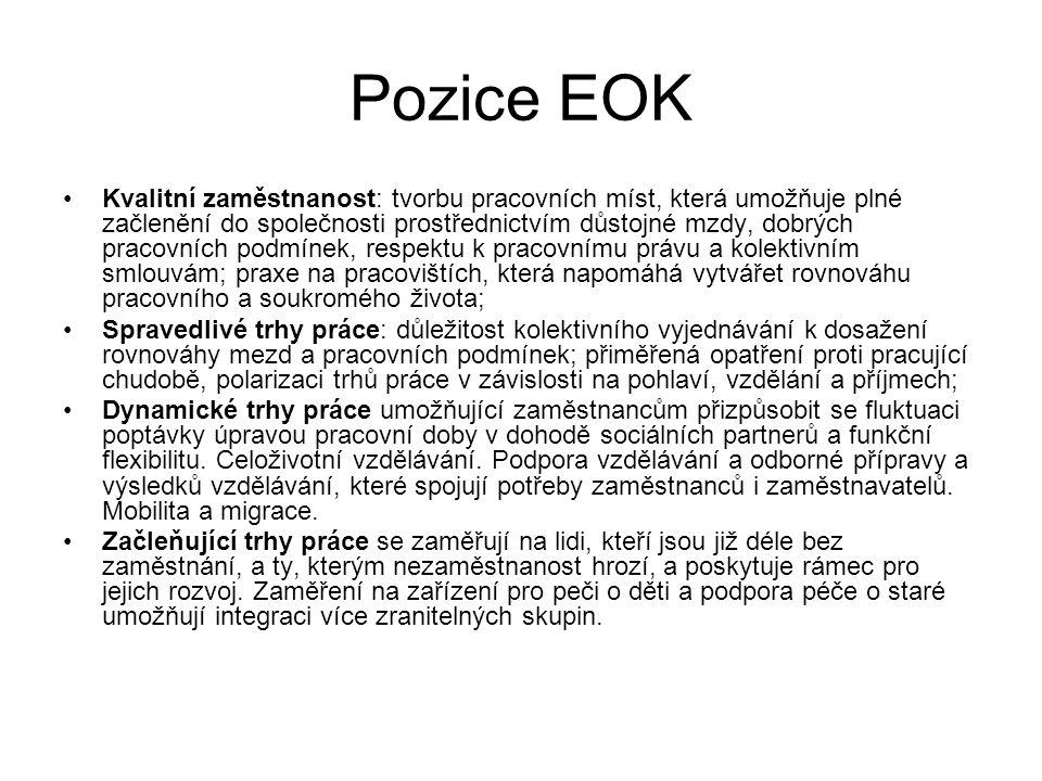 Podíl OSVČ na celkové zaměstnanosti v ČR v % 2000200520102014 Podíl OSVČ 10,311,613,514,1