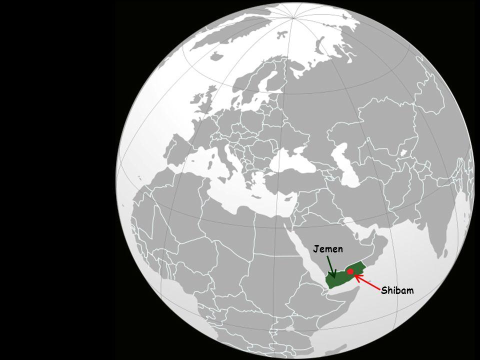 Shibam je historické město v Jemenu. Nachází se ve středu vádi Hadramaut a má 8.000 obyvatel.