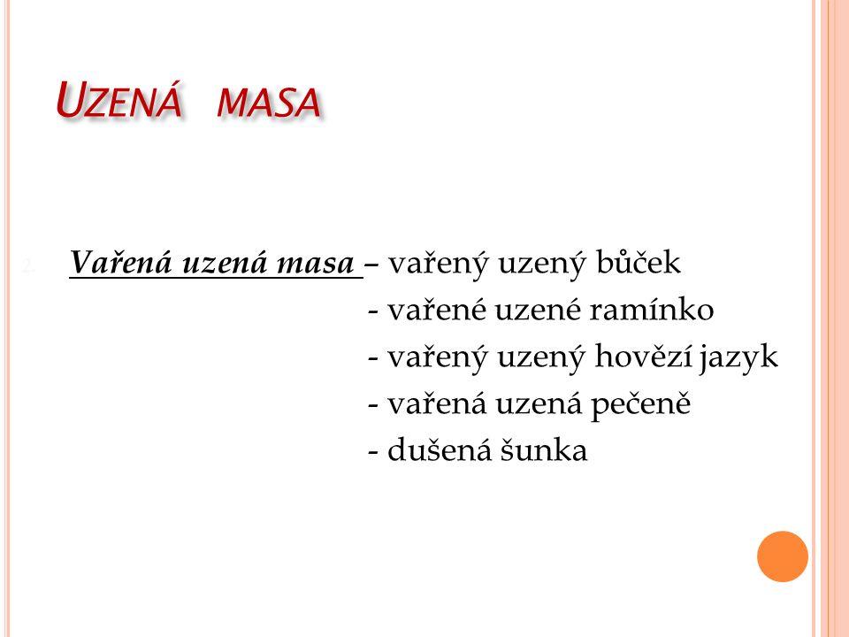 U ZENÁ MASA 2.