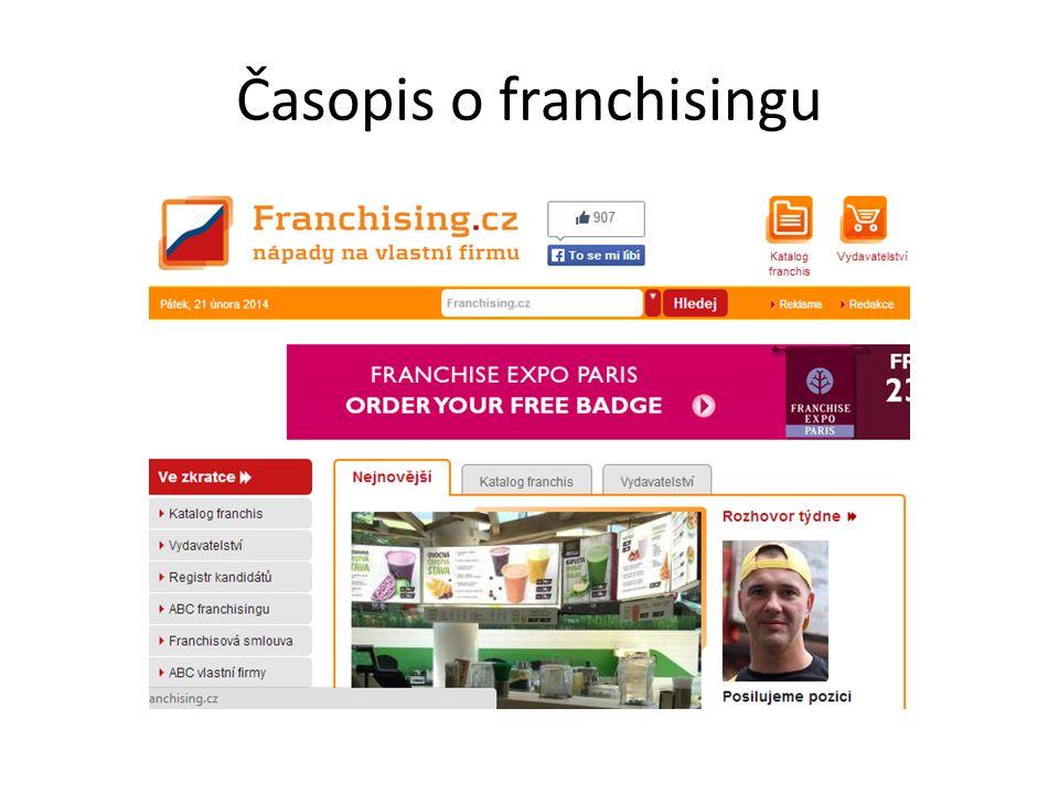 Časopis o franchisingu