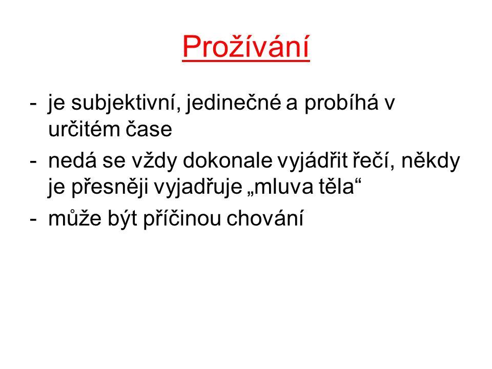 Základní (teoreticko-praktické) psychologické vědy 1.