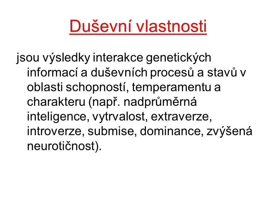 Základní (teoreticko-praktické) psychologické vědy 5.Biologická psychologie -studuje utváření duševna biologickými činiteli (např.