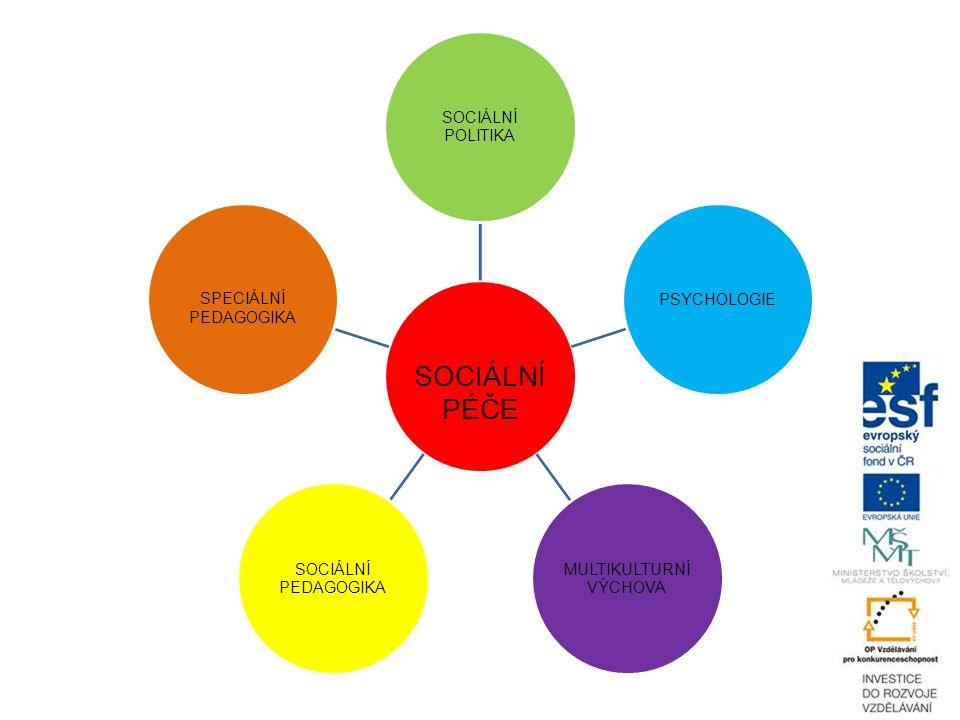 SOCIÁLNÍ PÉČE SOCIÁLNÍ POLITIKA PSYCHOLOGIE MULTIKULTURNÍ VÝCHOVA SOCIÁLNÍ PEDAGOGIKA SPECIÁLNÍ PEDAGOGIKA