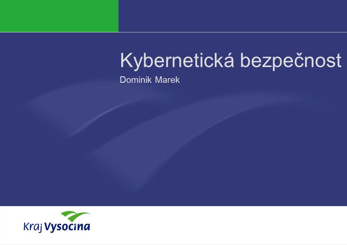 Dominik Marek Kybernetická bezpečnost Dominik Marek
