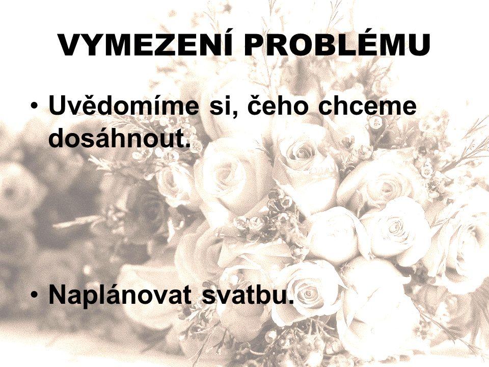 SHROMÁŽDĚNÍ INFORMACÍ Co potřebujeme vědět, abychom problém vyřešili?