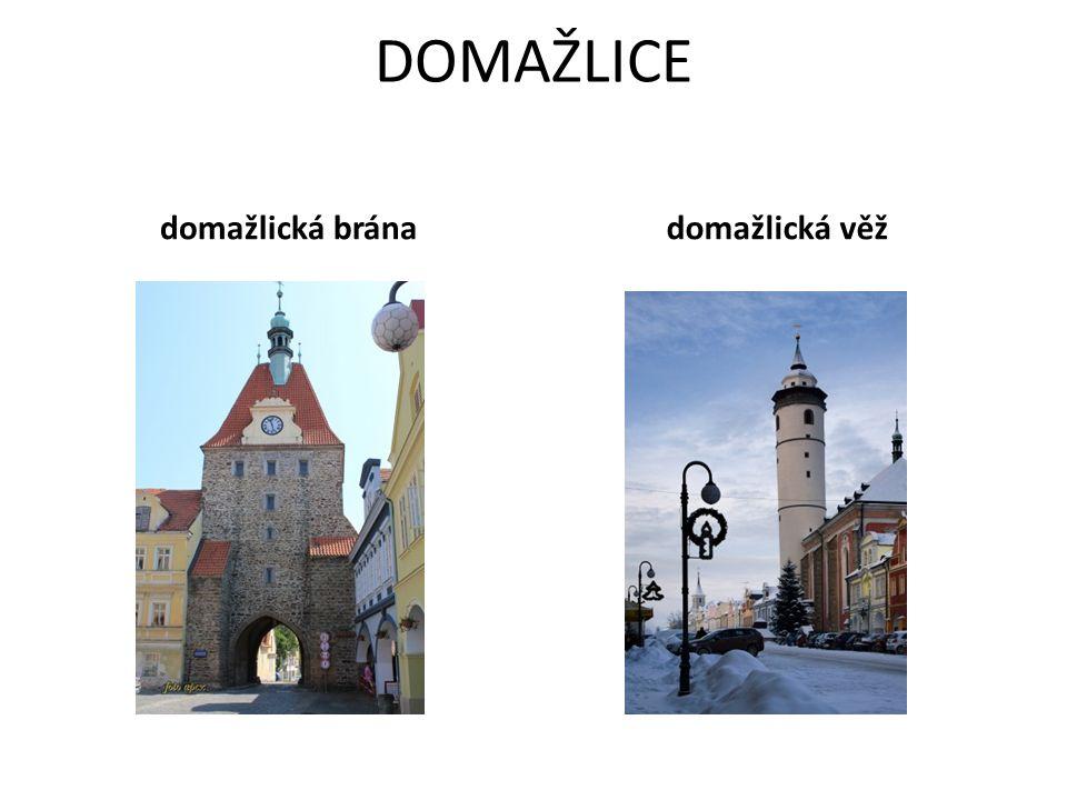 DOMAŽLICE domažlická bránadomažlická věž