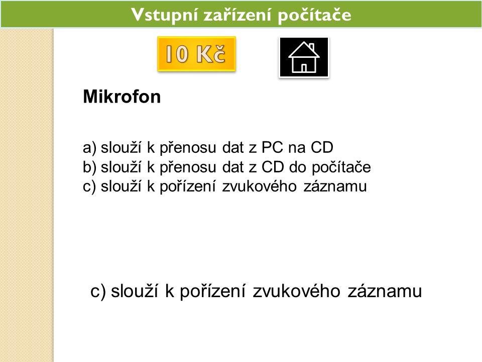 Co je na obrázku a)Monitor b)Televize c)CD-ROM a) Monitor