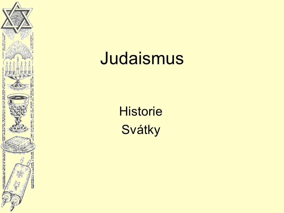 Judaismus Historie Svátky
