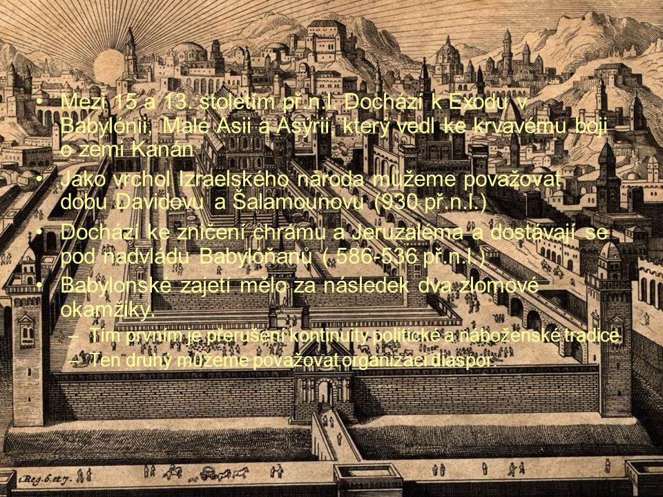 Mezi 15 a 13. stoletím př.n.l.