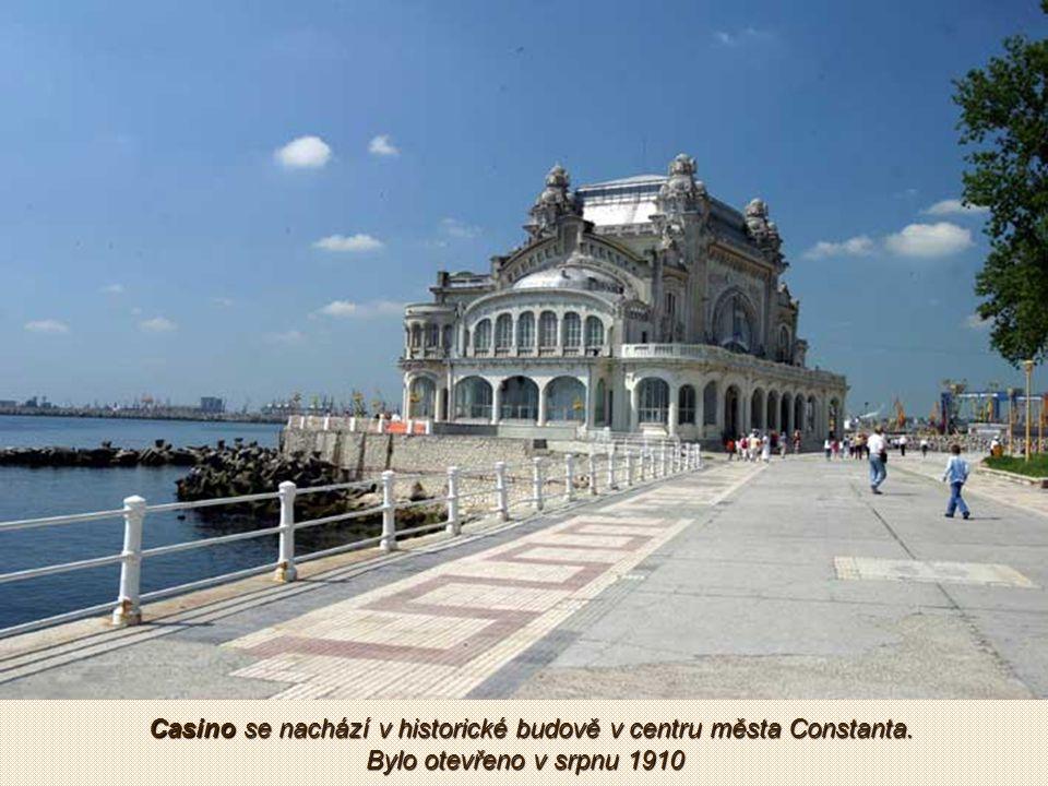 Constanta - nejdůležitější přístav Rumunska