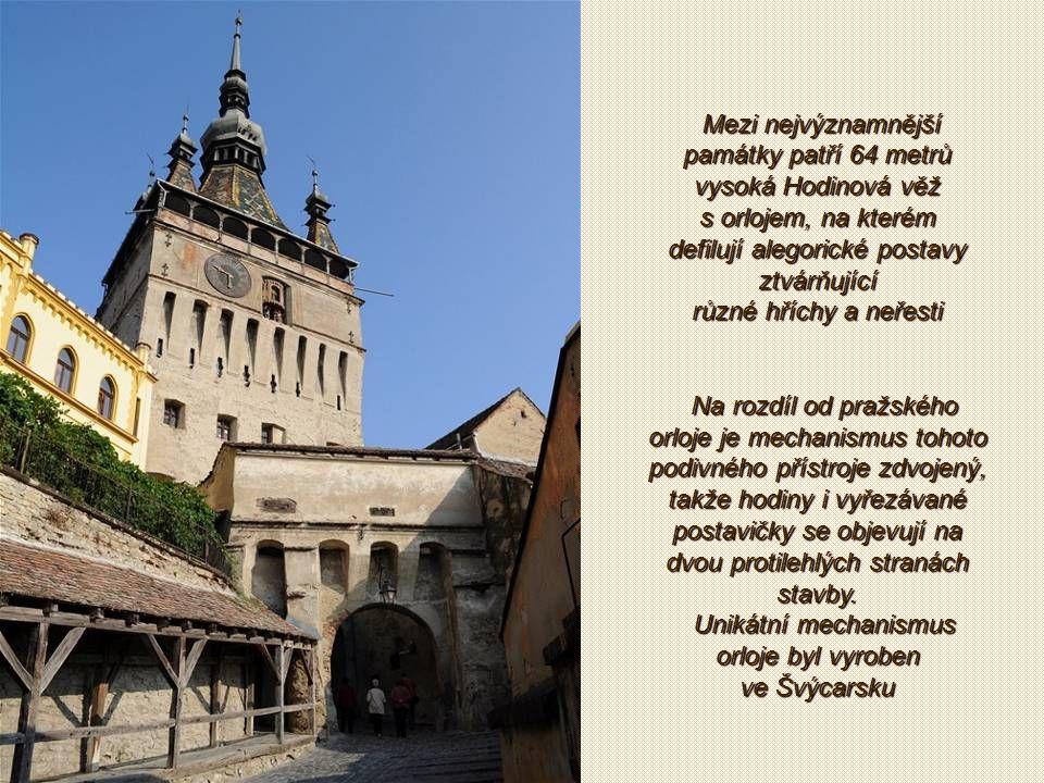 Sighisoara je snad nejreprezentativnější město v Transylvánii