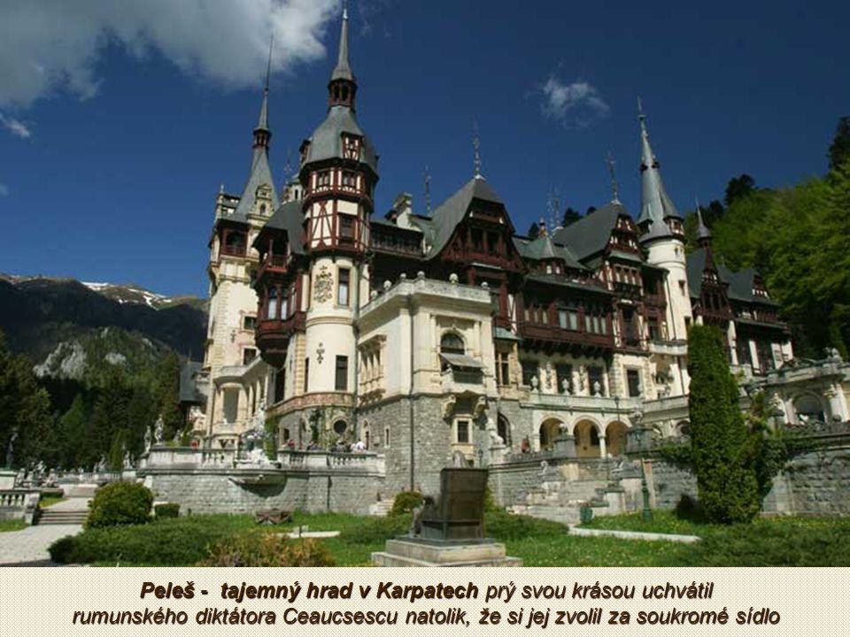 Goticko-renesanční hrad Hunyad patří mezi nejnavštěvovanější středověké hrady v Rumunsku vůbec