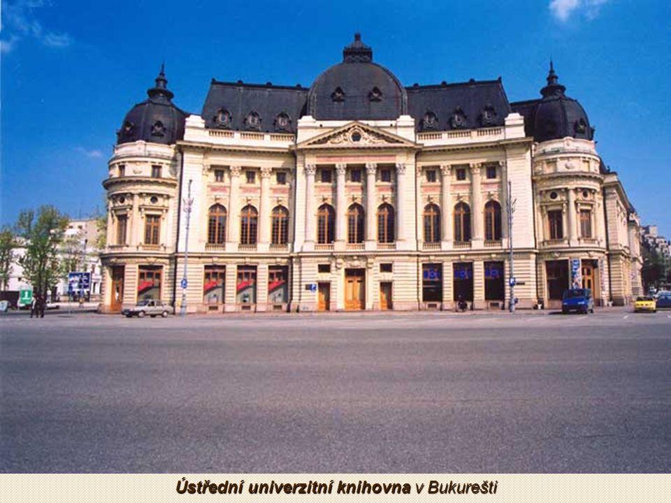 Rumunský Athenaeum je koncertní sál v centru Bukurešti z roku 1888