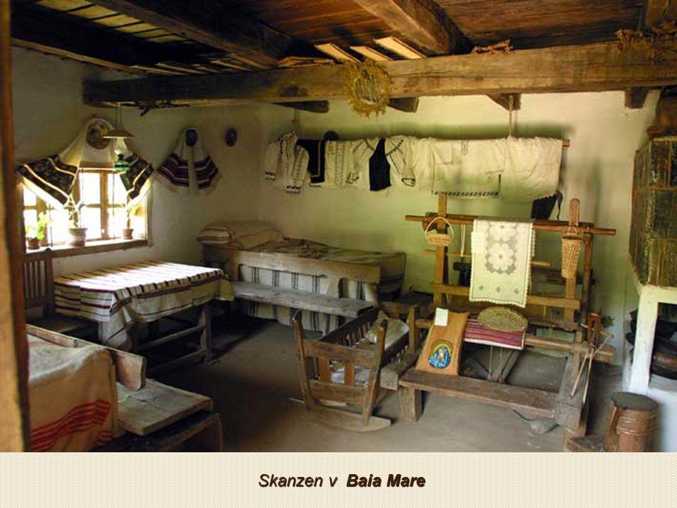 Muzeum vesnice – skanzen Sighet