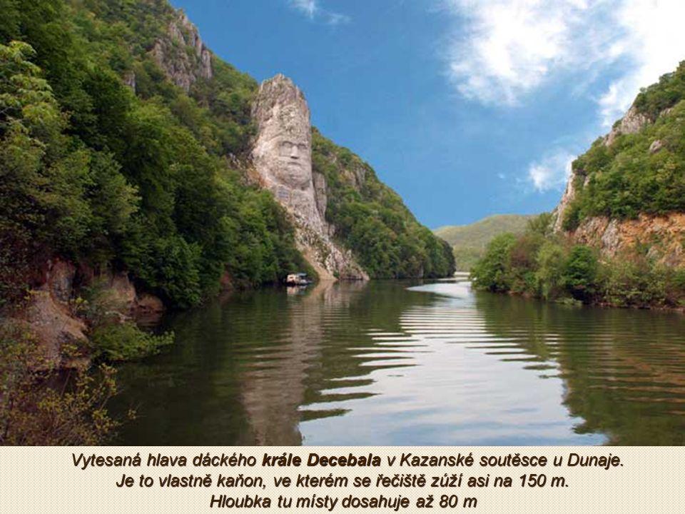 Přehrada na řece Arges (levý přítok Dunaje)