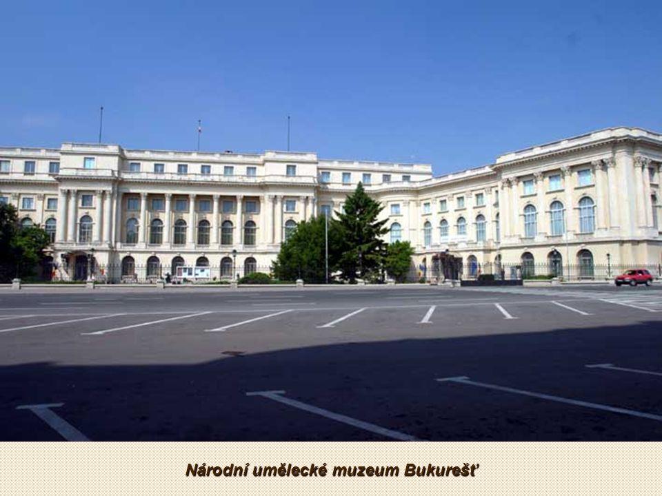 Záběr kamery v Bukurešti