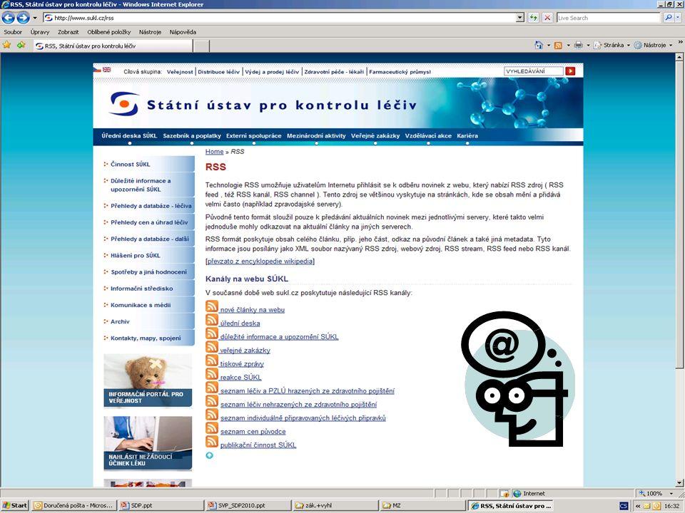 [ 17 ] RNDr. Olga Hanzlíčková © 2010 Státní ústav pro kontrolu léčiv