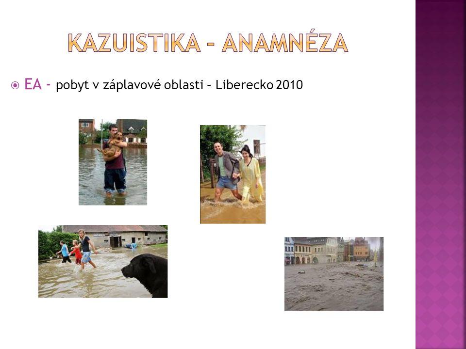  EA - pobyt v záplavové oblasti – Liberecko 2010