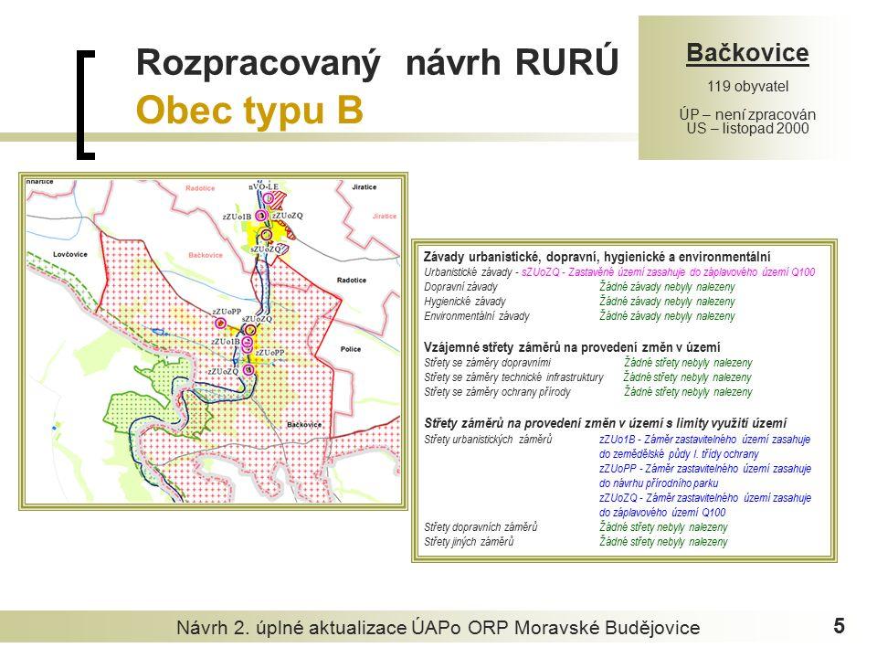 Návrh 2.úplné aktualizace ÚAPo ORP Moravské Budějovice 6 2.