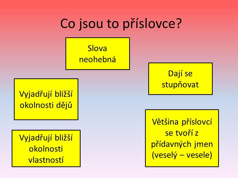 Použité zdroje: STYBLÍK, Vlastimil a kol.Český jazyk pro 6.