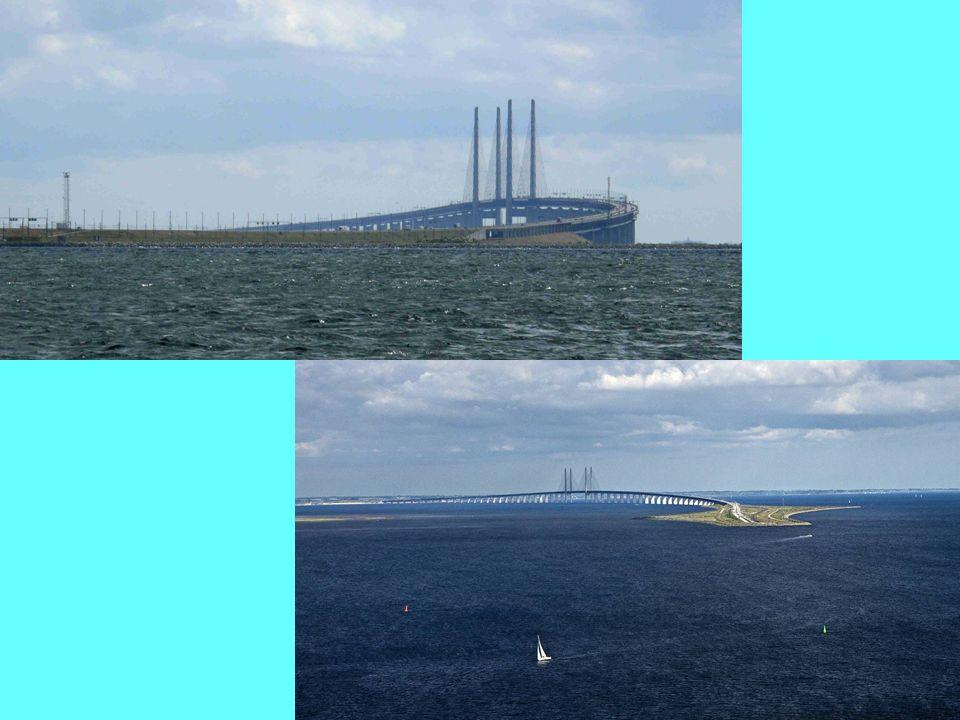 Výjezd z tunelu směrem z Dánska, v pozadí Malmö.