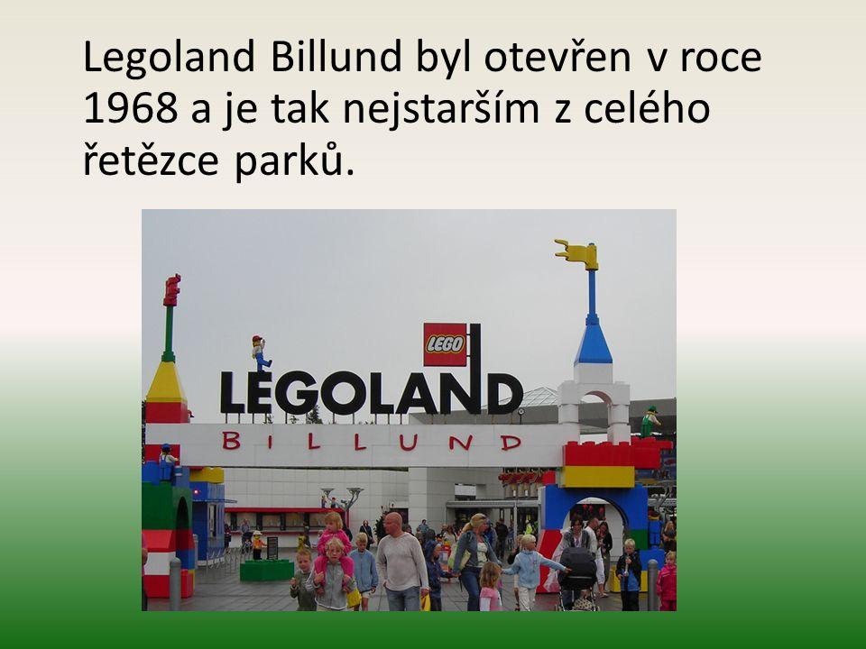Legoland Billund byl otevřen v roce 1968 a je tak nejstarším z celého řetězce parků.