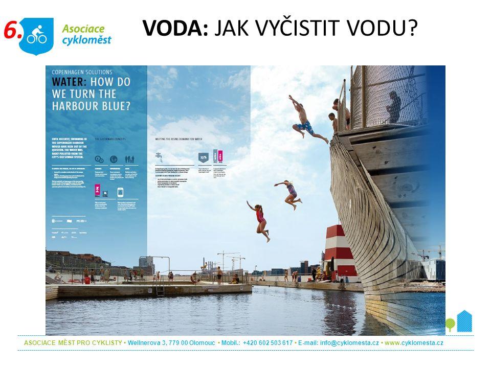 ASOCIACE MĚST PRO CYKLISTY Wellnerova 3, 779 00 Olomouc Mobil.: +420 602 503 617 E-mail: info@cyklomesta.cz www.cyklomesta.cz VODA: JAK VYČISTIT VODU.