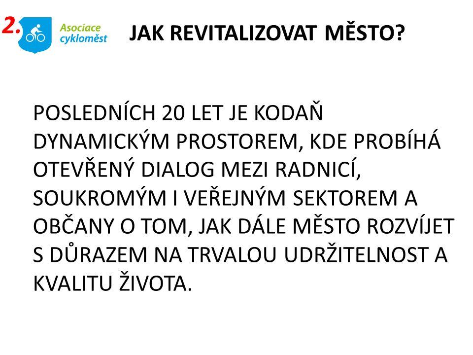 ASOCIACE MĚST PRO CYKLISTY Wellnerova 3, 779 00 Olomouc Mobil.: +420 602 503 617 E-mail: info@cyklomesta.cz www.cyklomesta.cz DÍKY ZAJIŠTĚNÍ SPOLEHLIVÝCH DODÁVEK CENOVĚ DOSTUPNÉHO TEPLA PRO 98 % MĚSTA A CELKEM 570 000 JEHO OBYVATEL JE KODAŇSKÝ SYSTÉM VYTÁPĚNÍ JEDNÍM Z NEJVĚTŠÍCH NA SVĚTĚ.