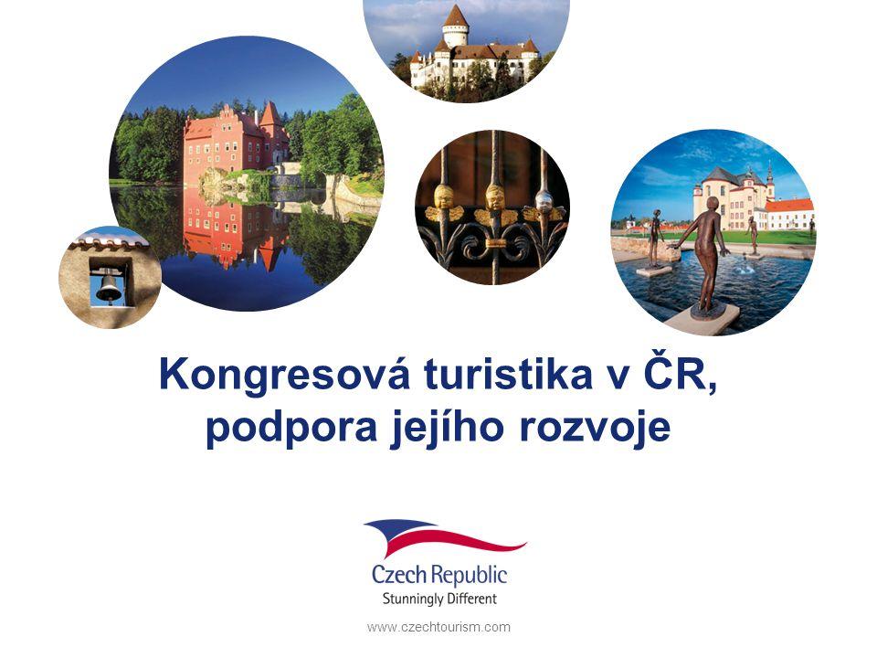 www.czechtourism.com Kongresová turistika v ČR, podpora jejího rozvoje