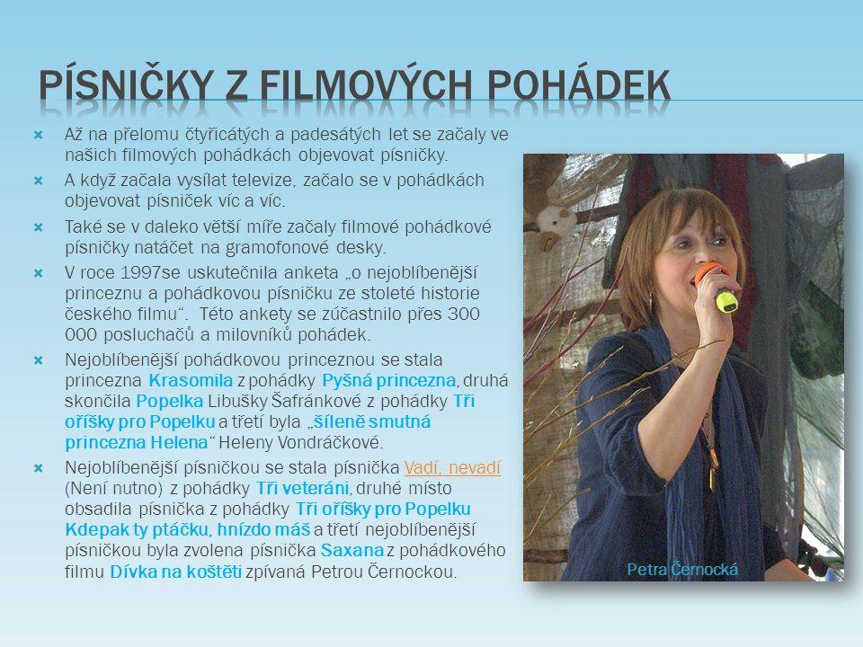  Českými filmovými a televizními pohádkami prošlo mnoho princů, princezen, králů a královen a mnozí se do paměti diváků zapsalo nesmazatelným dojmem.