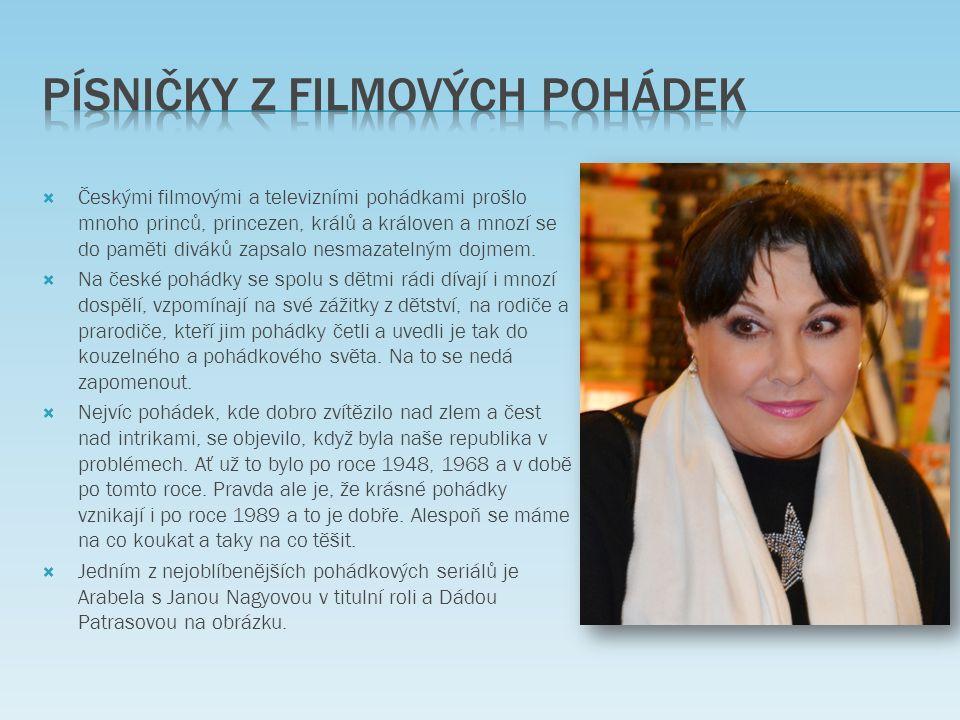  Předlohou pro naši nejslavnější filmovou pohádku Pyšná princezna se stala pohádka Boženy Němcové Potrestaná pýcha.