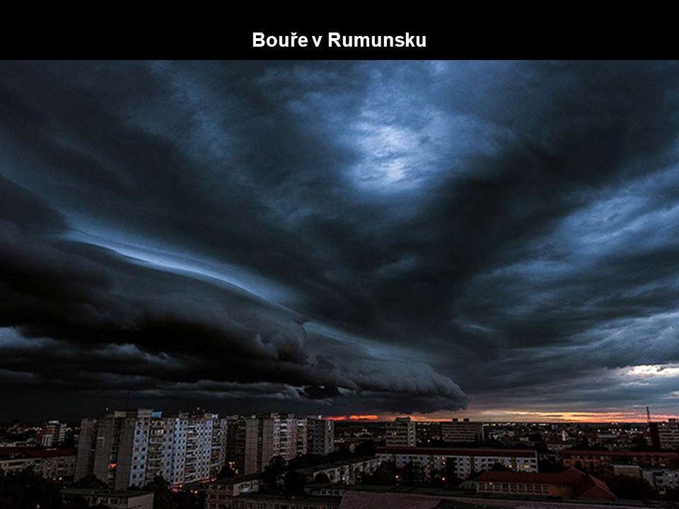 Bouře v Rumunsku