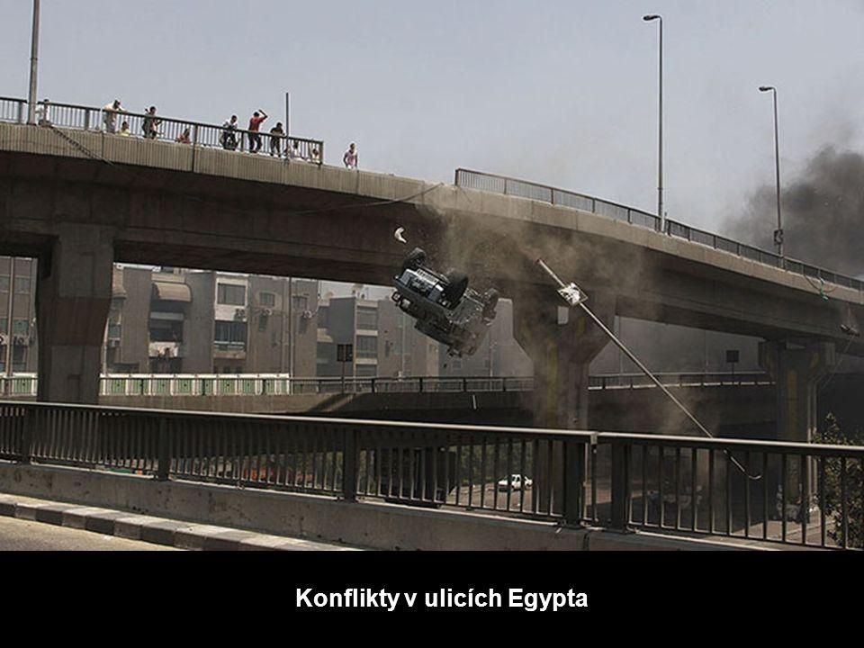 Konflikty v ulicích Egypta