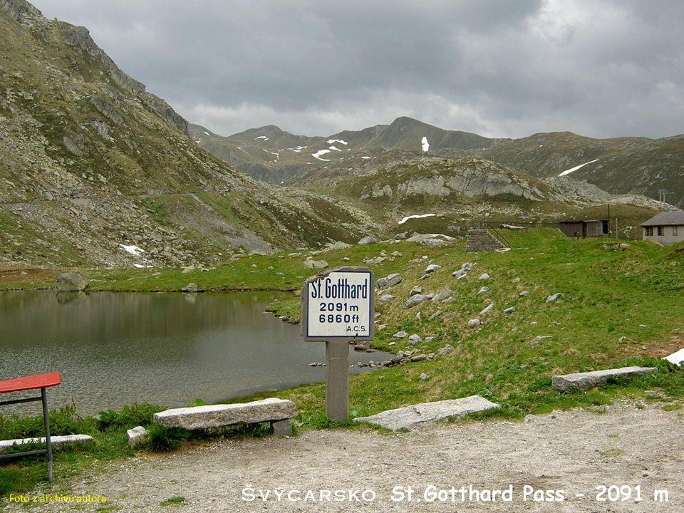 Švýcarsko Foto z archivu autora