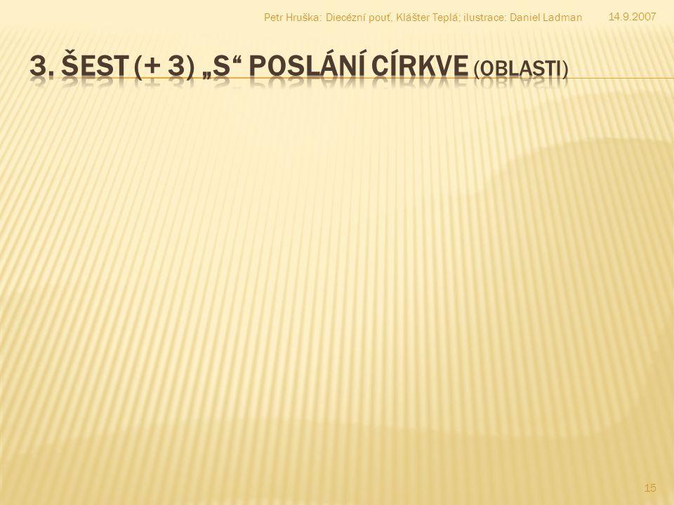 15 14.9.2007 Petr Hruška: Diecézní pouť, Klášter Teplá; ilustrace: Daniel Ladman