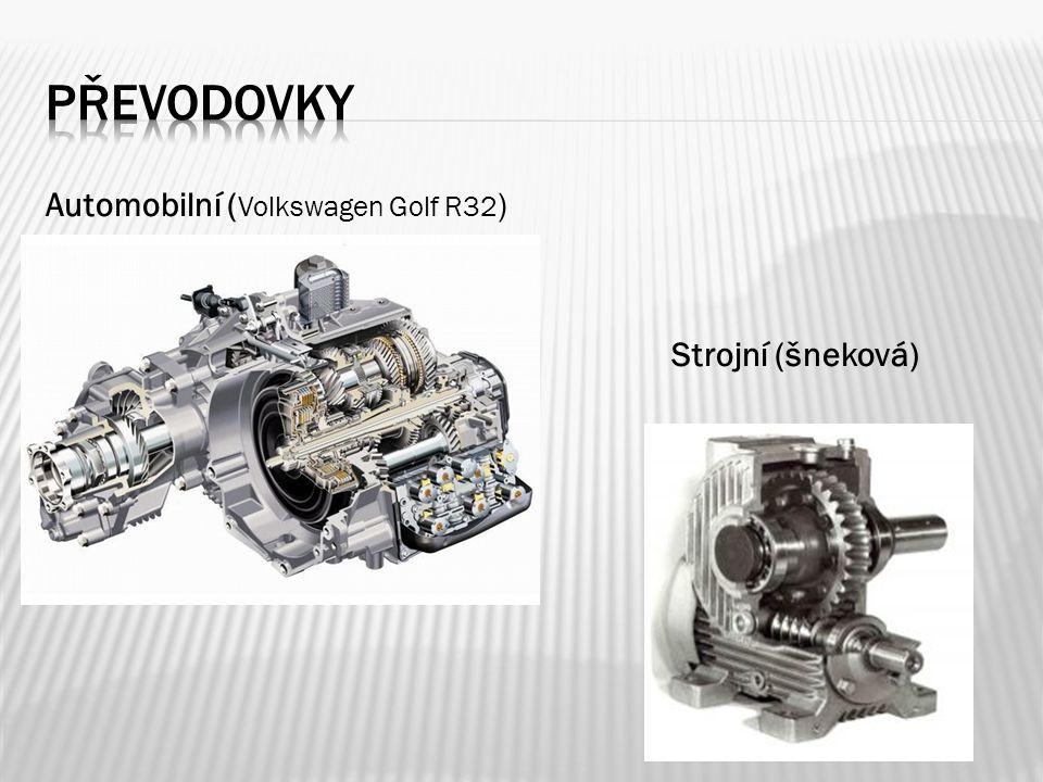 Automobilní ( Volkswagen Golf R32 ) Strojní (šneková)
