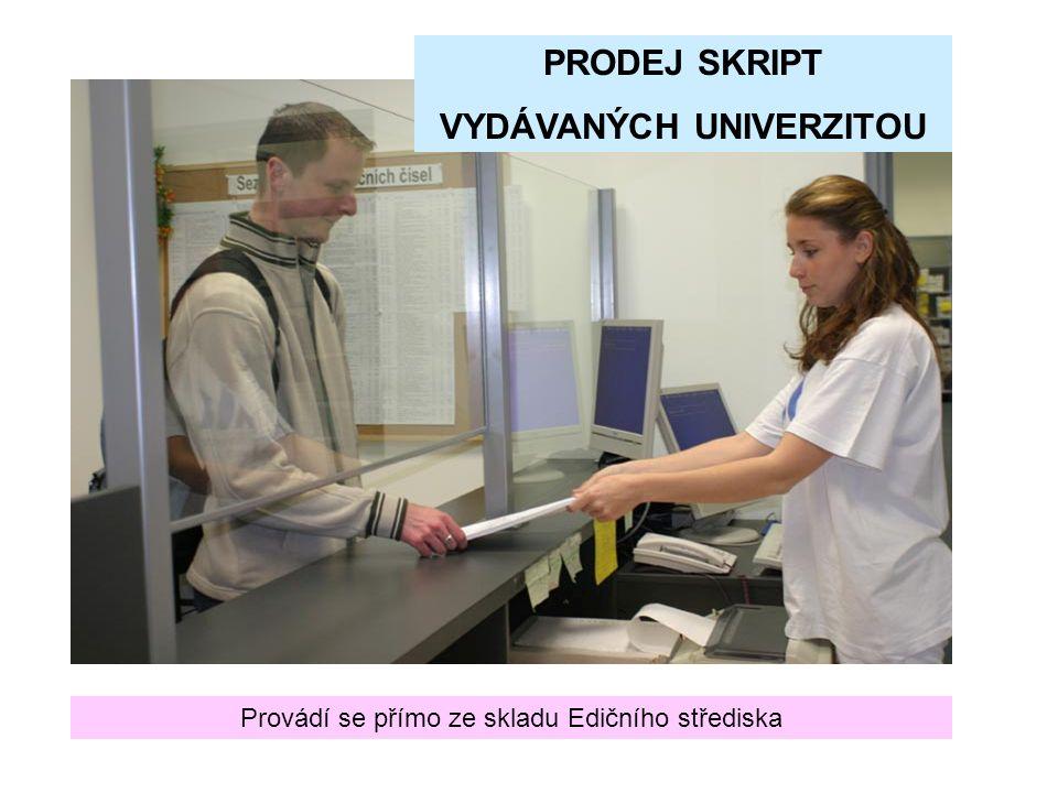 KNIHAŘSKÉ ZPRACOVÁNÍ Mendelova zemědělská a lesnická univerzita v Brně EDIČNÍ STŘEDISKO